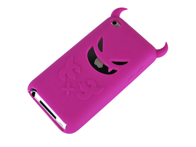 Devil Silicone Skin voor iPod Touch 4G