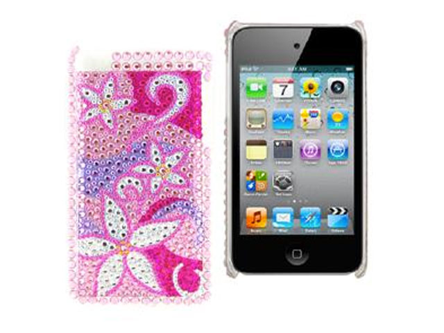 Diamond Back Case 'Funky Flowers' iPod Touch 4G