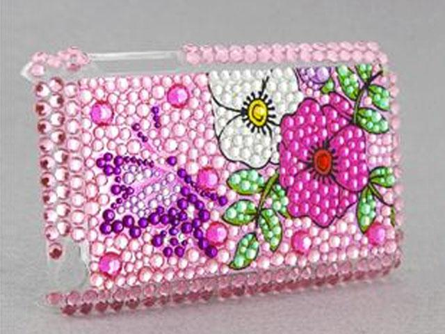 Diamond Back Case 'Lovely Flowers' iPod Touch 4G