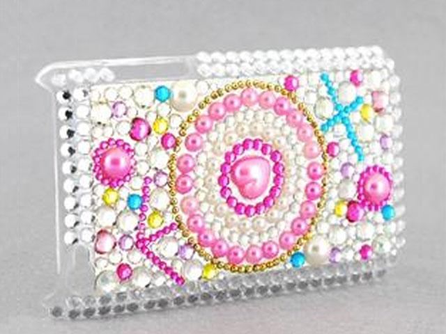 Diamond Back Case 'Pearl Heart' voor iPod Touch 4G