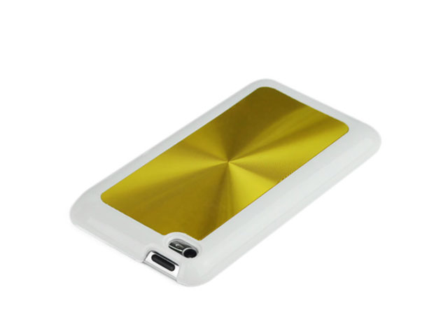 Disc Series Aluminium Case Hoes voor iPod touch 4G