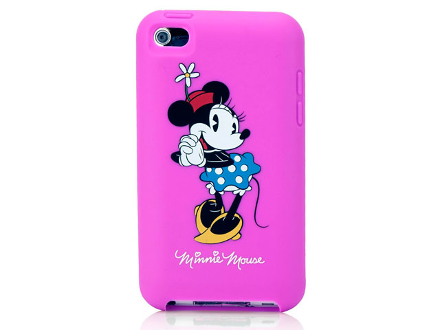 Disney Minnie Mouse Silicone Skin Case voor iPod touch 4G