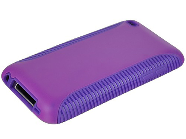 DuoProtect Silicon Hard Case voor iPod touch 4G