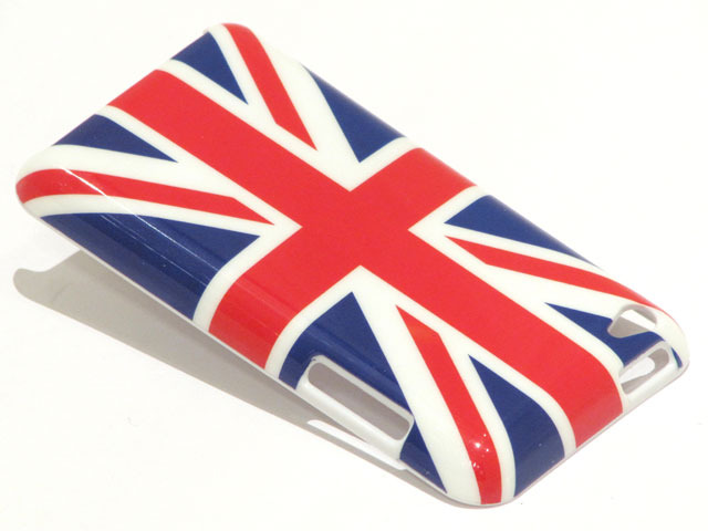 Great Brittain Flag Case Hoes voor iPod touch 4G
