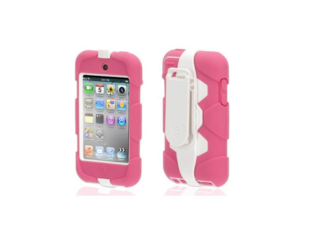 Griffin Survivor Armored Case Pink Edition voor iPod touch 4G