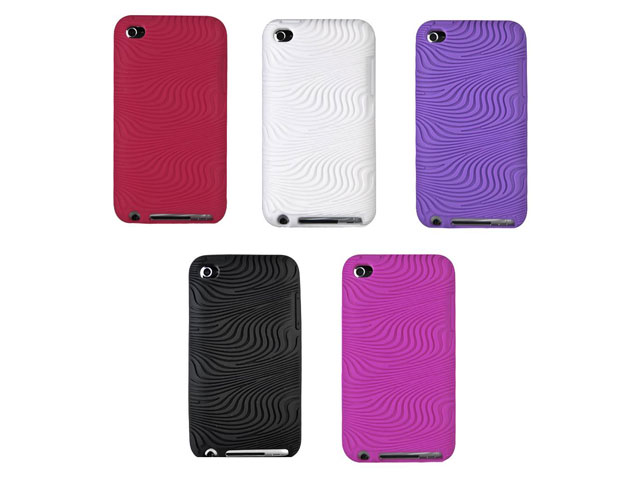 Groovy Grip Silicone Skin Hoes voor iPod touch 4G