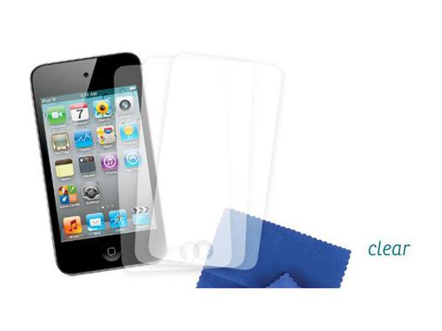 Griffin Screen Care Kit Clear 3-pack iPod Touch 4G