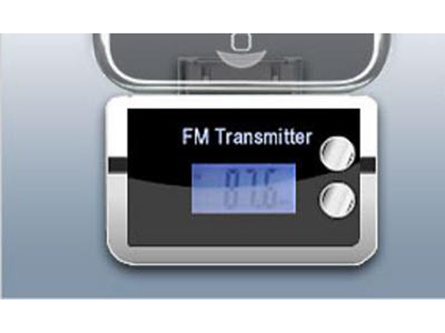 FM Transmitter iPhone Design + Remote