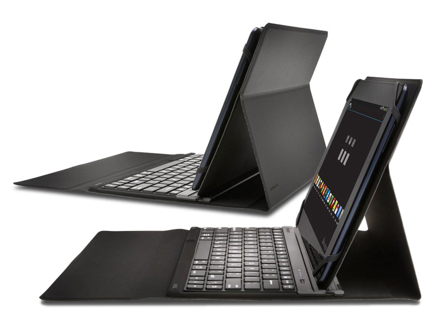 Kensington KeyFolio Fit - Universele Keyboard Folio voor 10