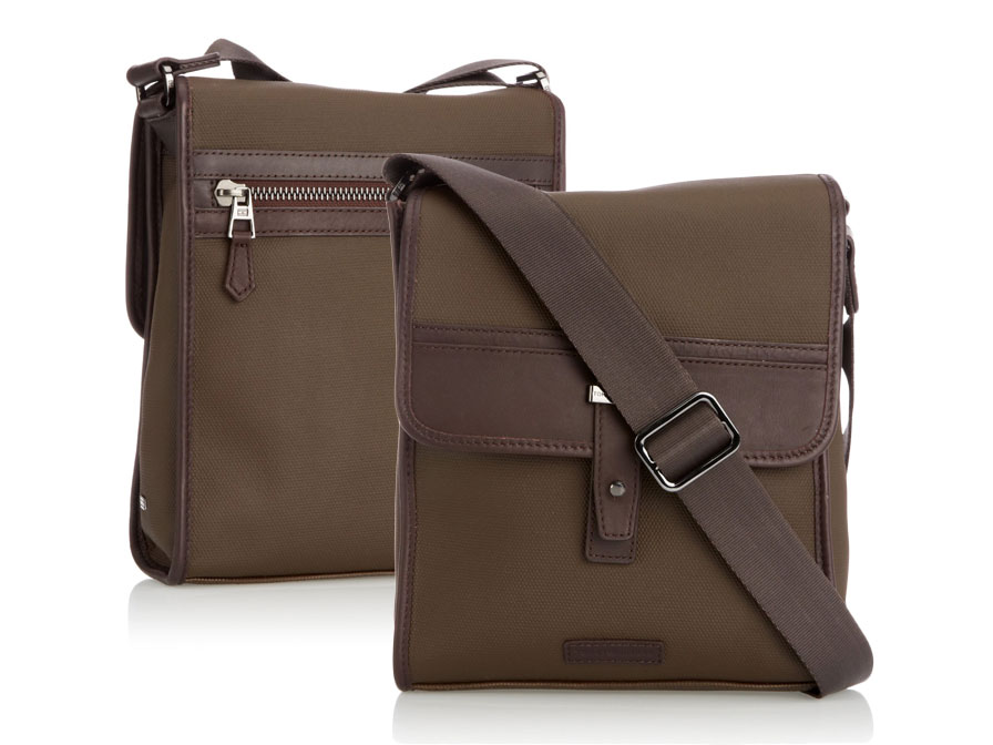 Tommy Hilfiger Walker Reporter - Schoudertas voor Tablet & MacBook
