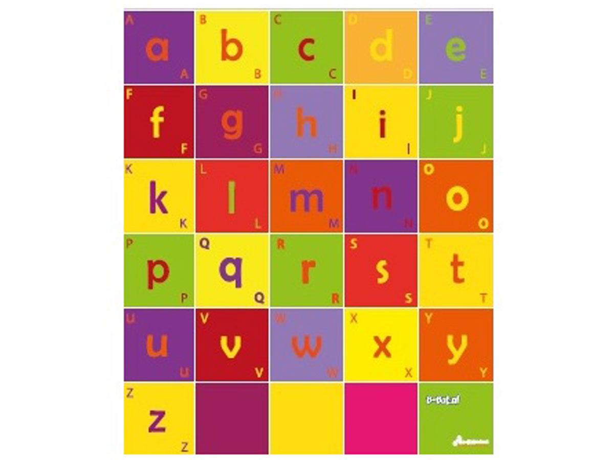 Bee-Bot Mat met Alfabet (75 x 90cm) Print