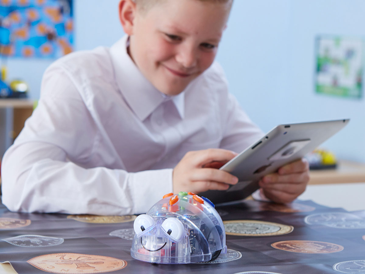 Blue-Bot - Educatieve Oplaadbare Robot met Bluetooth