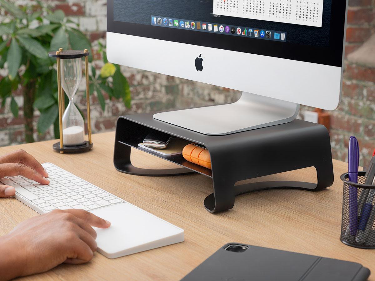 Twelve South Curve Riser Stand - iMac Monitor Standaard