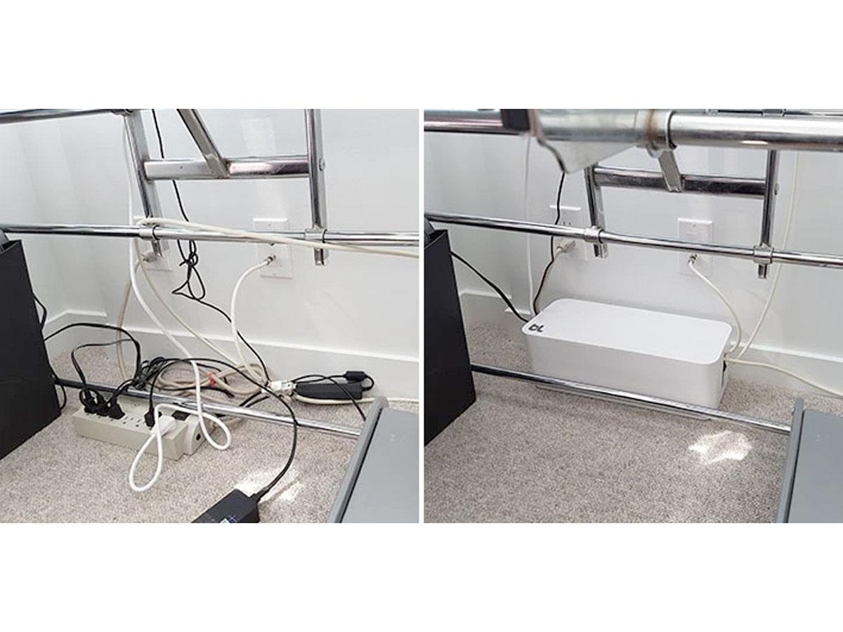 BlueLounge CableBox Cable Organiser Wit - Kabels Wegwerken