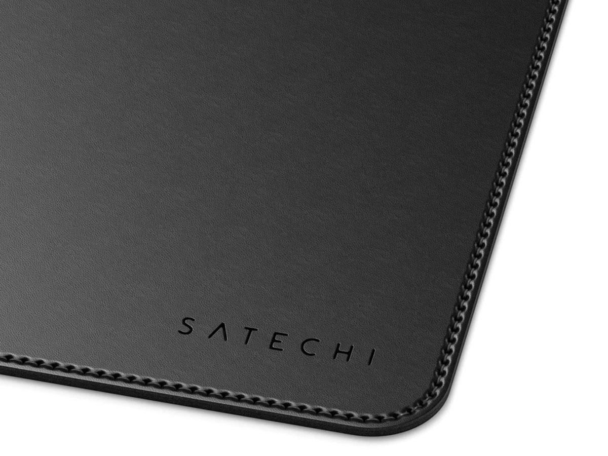 Satechi Eco-Leather Deskmate Zwart - Bureau Onderlegger Computer Mat