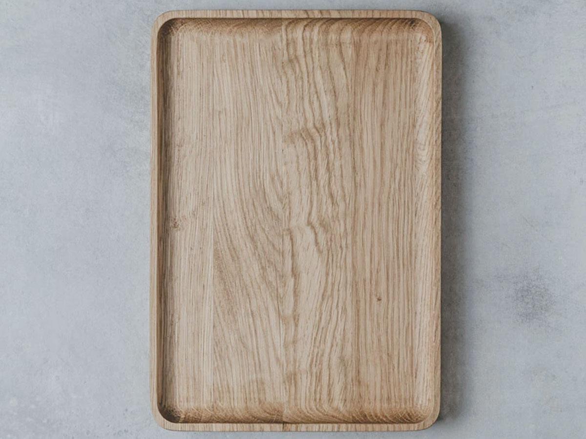 Oakywood Wooden Catchall Tray Oak - Houten Organizer Bakje