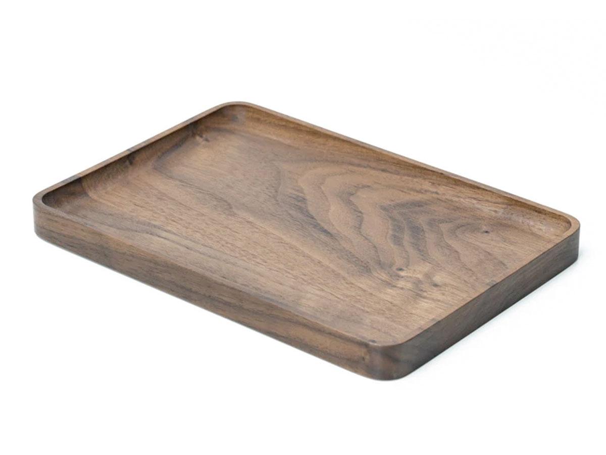 Oakywood Wooden Catchall Tray Walnut - Houten Organizer Bakje