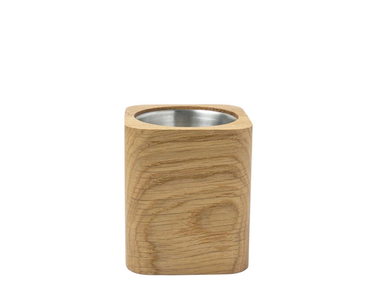 Oakywood Square Pen Holder Oak - Houten Pennenhouder
