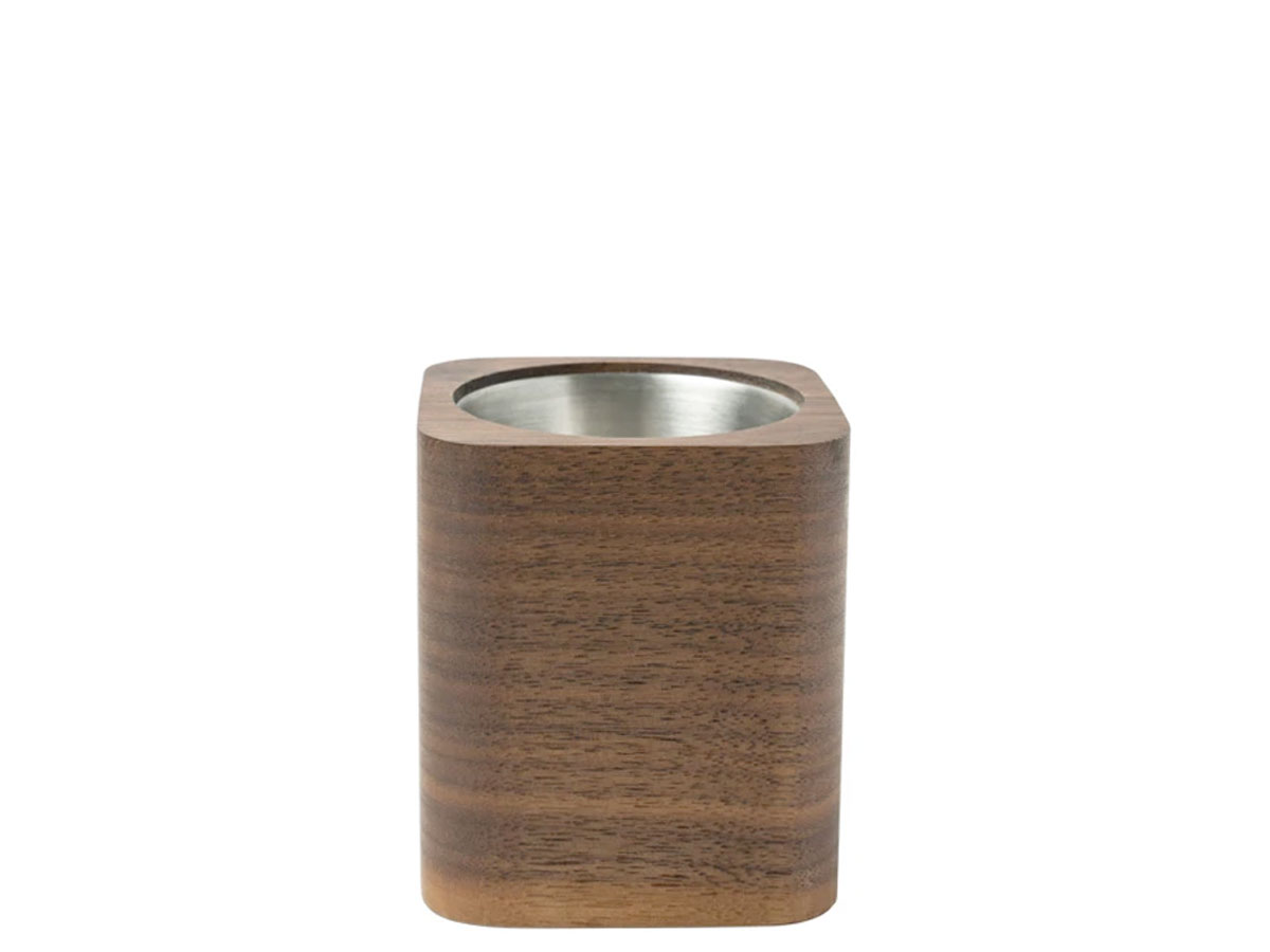 Oakywood Square Pen Holder Walnut - Houten Pennenhouder