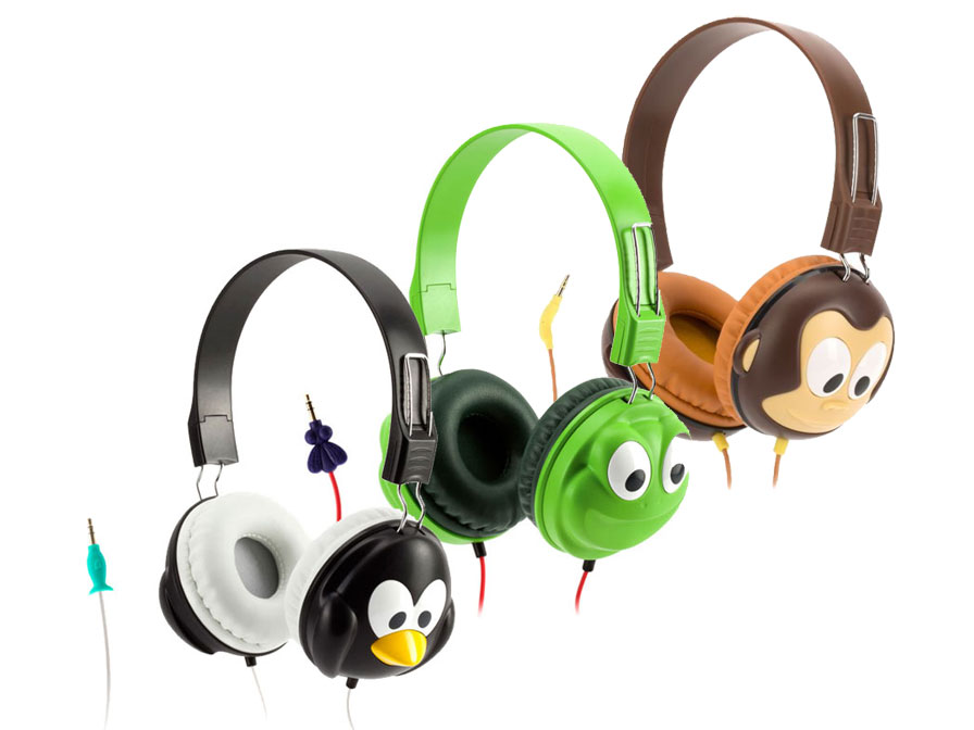 koptelefoon kind 2 jaar Griffin Kazoo Kinder Koptelefoon met Volumebeperking koptelefoon kind 2 jaar