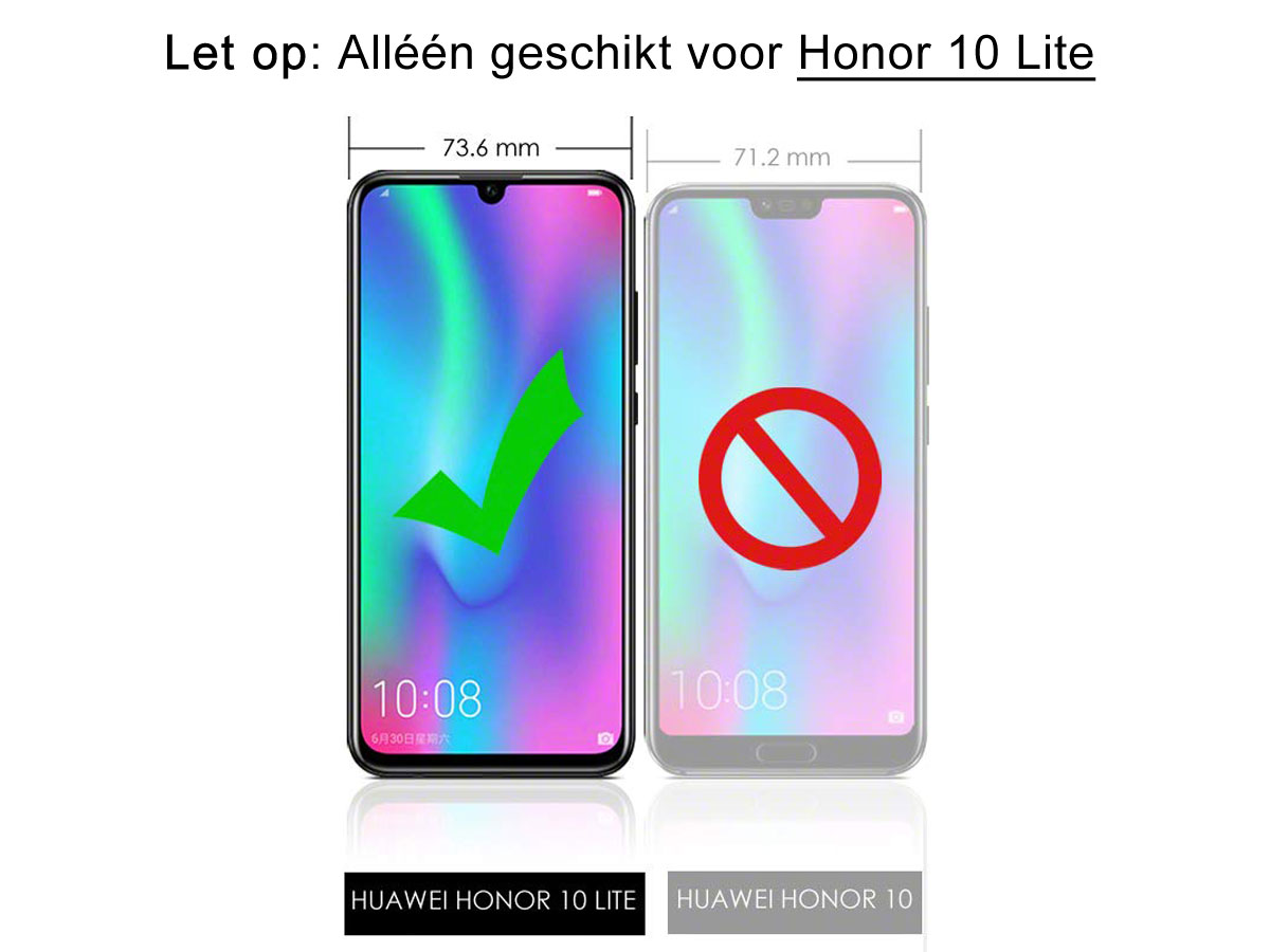 CaseBoutique Slim Wallet Case - Honor 10 Lite hoesje