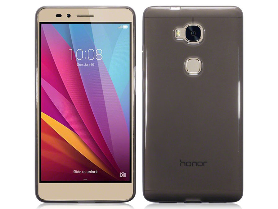 TPU Soft Case - Doorzichtig Honor 5X hoesje