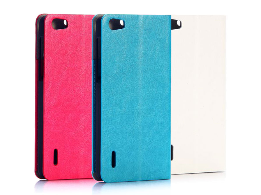 Fashion Color Bookcase - Honor 6 hoesje