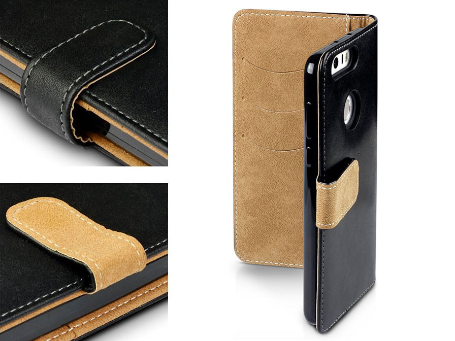 CaseBoutique Wallet Bookcase - Honor 8 hoesje