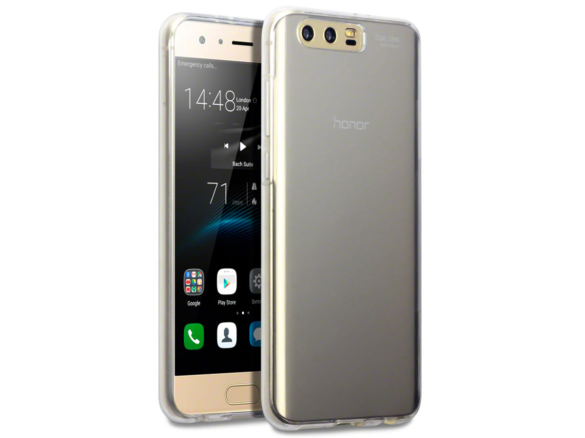 CaseBoutique Transparante TPU Case - Honor 9 Hoesje