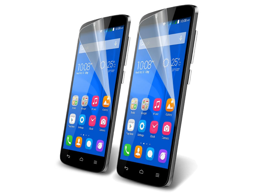 Clear Screenprotector voor Honor Holly (2-pack)