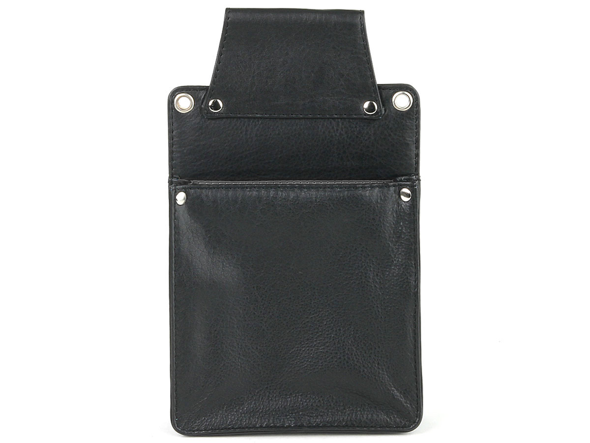 Horeca Holster voor iPad Mini - Zwart Leer