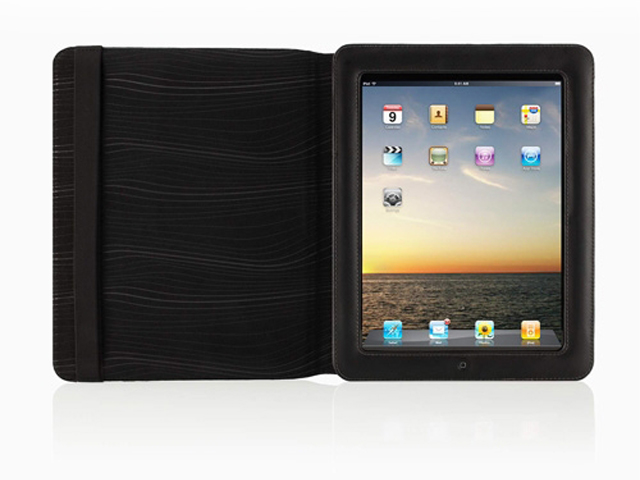 Belkin Leather Folio Leren Case Hoes voor iPad 1