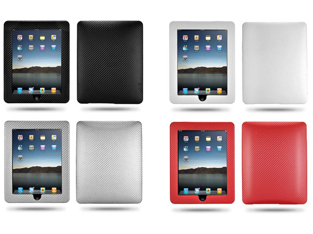 Carbon Leather Hard Case voor iPad