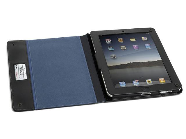 Knomo Sports Folio Leren Case voor iPad 1