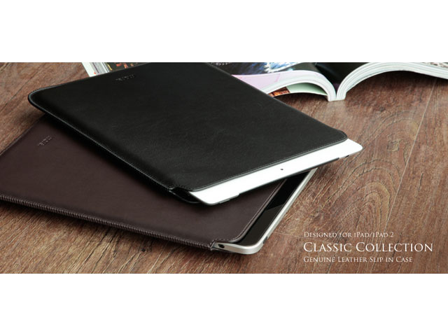 More Classic Collection Leren Sleeve - iPad hoesje