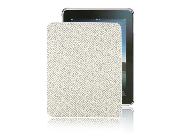 Greek Meandros Back Case voor iPad