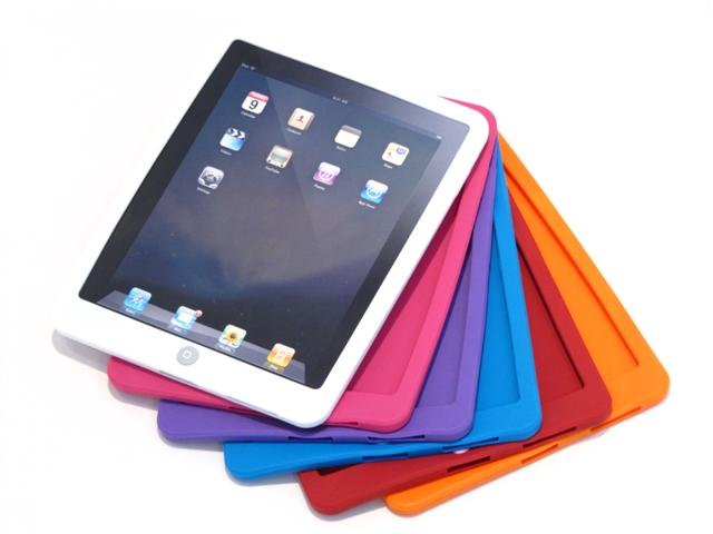 Candy Silicone Skin Hoes voor iPad 1