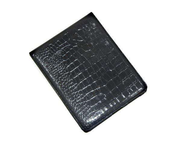 Crocodile Glossy Leather Flip Case voor iPad