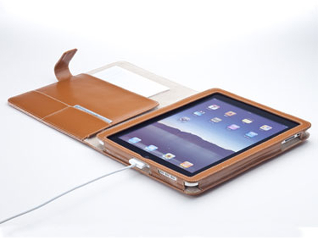 +Simplism iPad Flip Leather Case