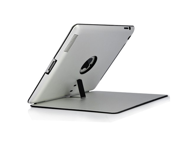 Aluminium Heavy Duty Metal Stand Case voor iPad 2