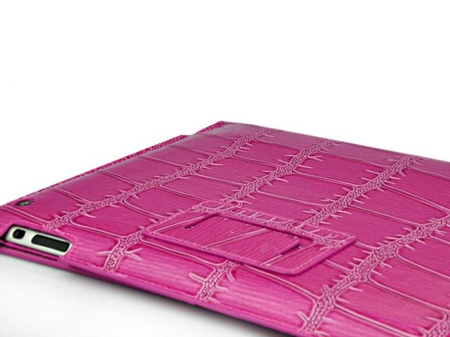 Big Croco UltraSlim Work & Media Stand Case voor iPad 2, 3 & 4