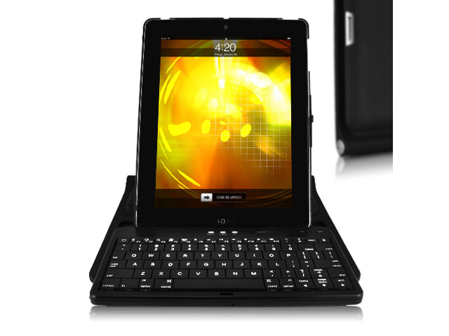 Bluetooth Keyboard 2-in-1 Case Hoes voor iPad 2