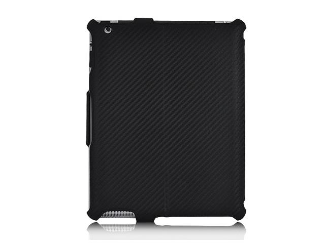 CEO Carbon Hybrid Stand Case Hoes voor iPad 2