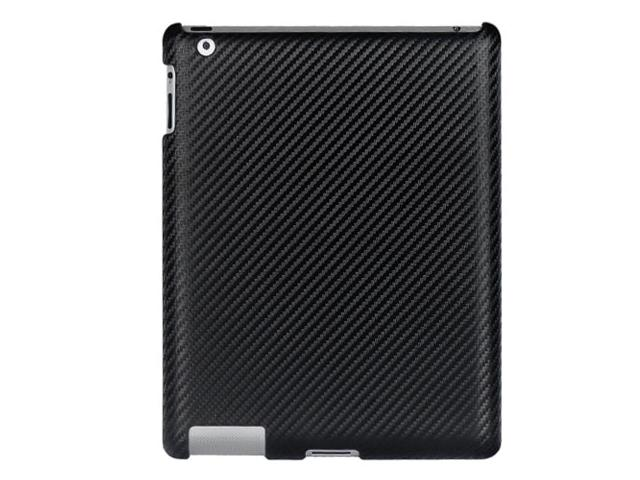 Carbon Back Case Hoes voor iPad 2