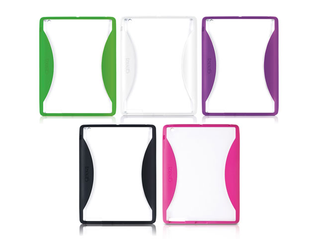 Gear4 IceBox Edge Crystal TPU Case Hoes iPad 2, 3 & 4