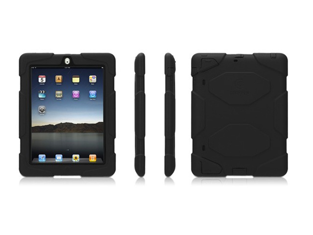 Griffin Survivor Armored Military Grade Case voor iPad 2, 3 & 4