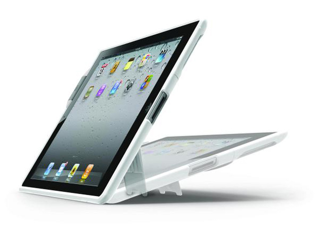 Kensington SecureBack Security Stand Case voor iPad 2 + Clicksafe Slot