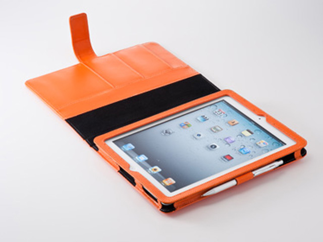 +Simplism Leather Flip Note Case Hoes voor iPad 2, 3 & 4