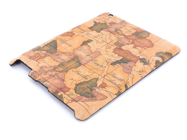 Antique Worldmap Case Hoes voor iPad 2