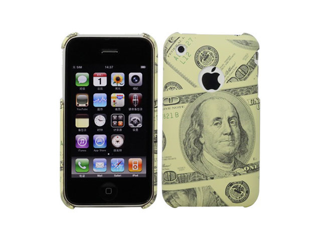 100 Dollar Bill Case Hoesje voor iPhone 3G/3GS